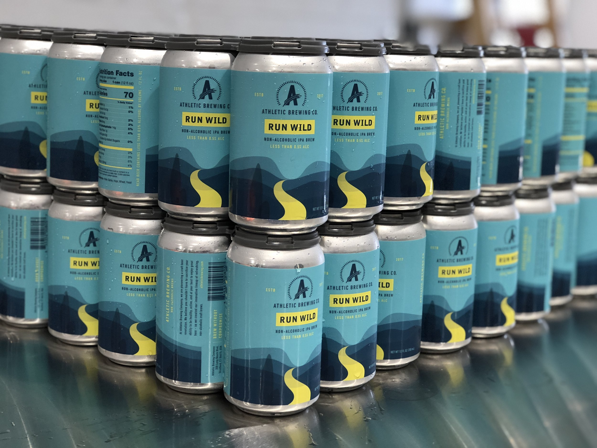First cans of Run Wild IPA distributed state-wide this week. Check your favorite stores & restaurants and ask if they have it yet!