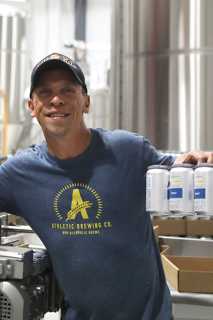 Pete: Packaging Pro - A veteran of a few highly-loved breweries nationwide, Pete has brought his expertise to getting you plenty of fresh beer, fast. Nicest guy in the business.