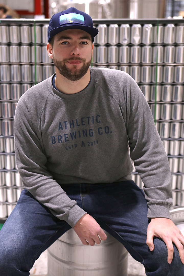 DAVID: NATIONAL CHAIN MGR & MASS TERRITORY MGR - A dominating 3-sport athlete and an engineer is a rare set of skills - almost as rare as a great-tasting NA beer. David truly lives the Athletic lifestyle - you're as likely to hear about our beer from him as a lacrosse coach as you are at a Wegman's.