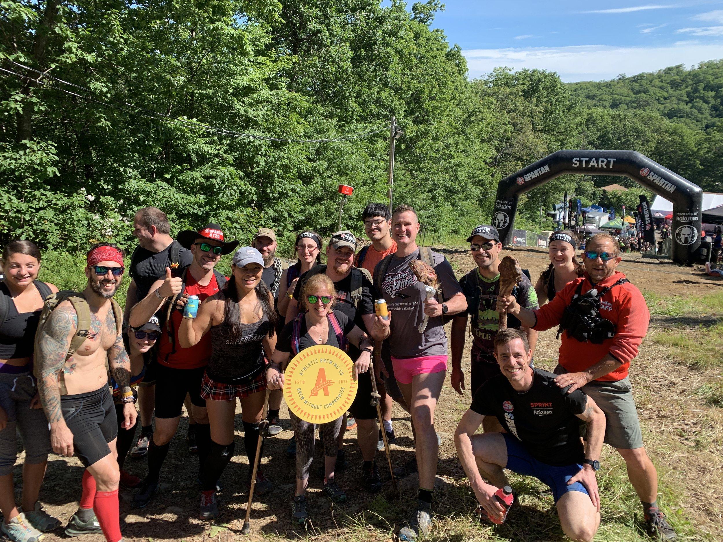 Spartan start crew.JPG
