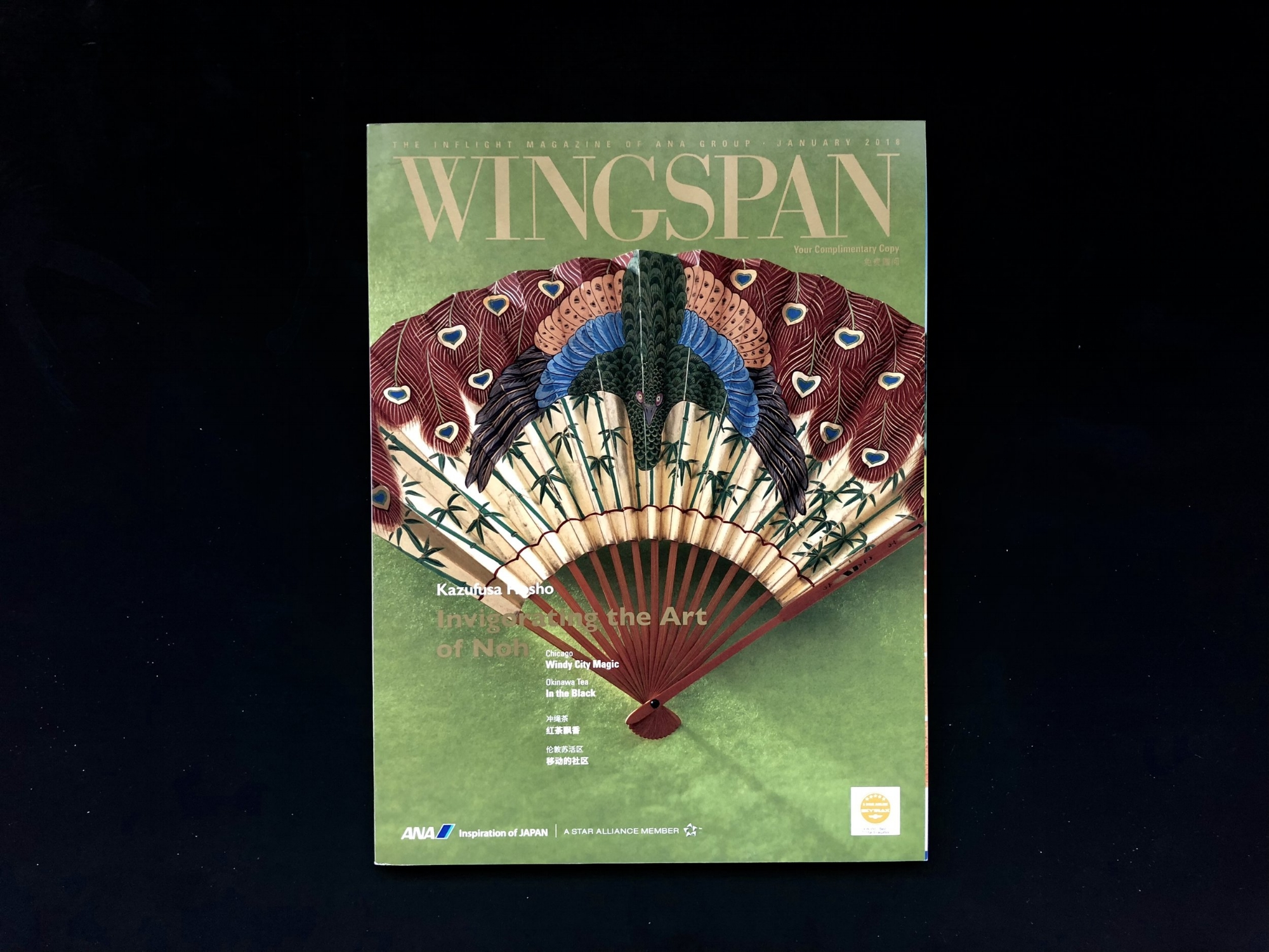 January 2018 issue of Wingspan Magazine