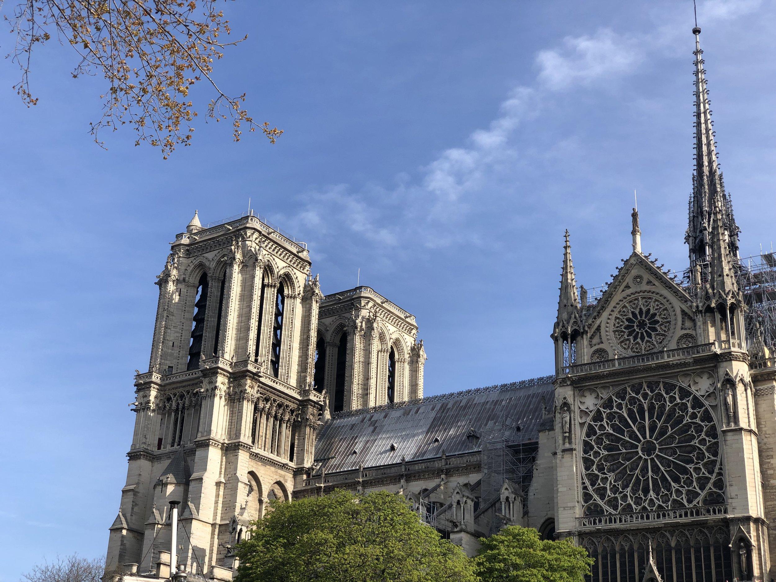 Notre Dame, April 6, 2019