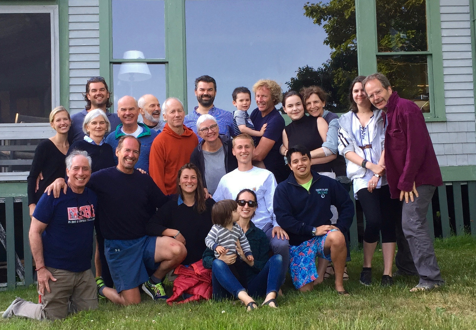 Cadwell Family Reunion in Maine, 2016