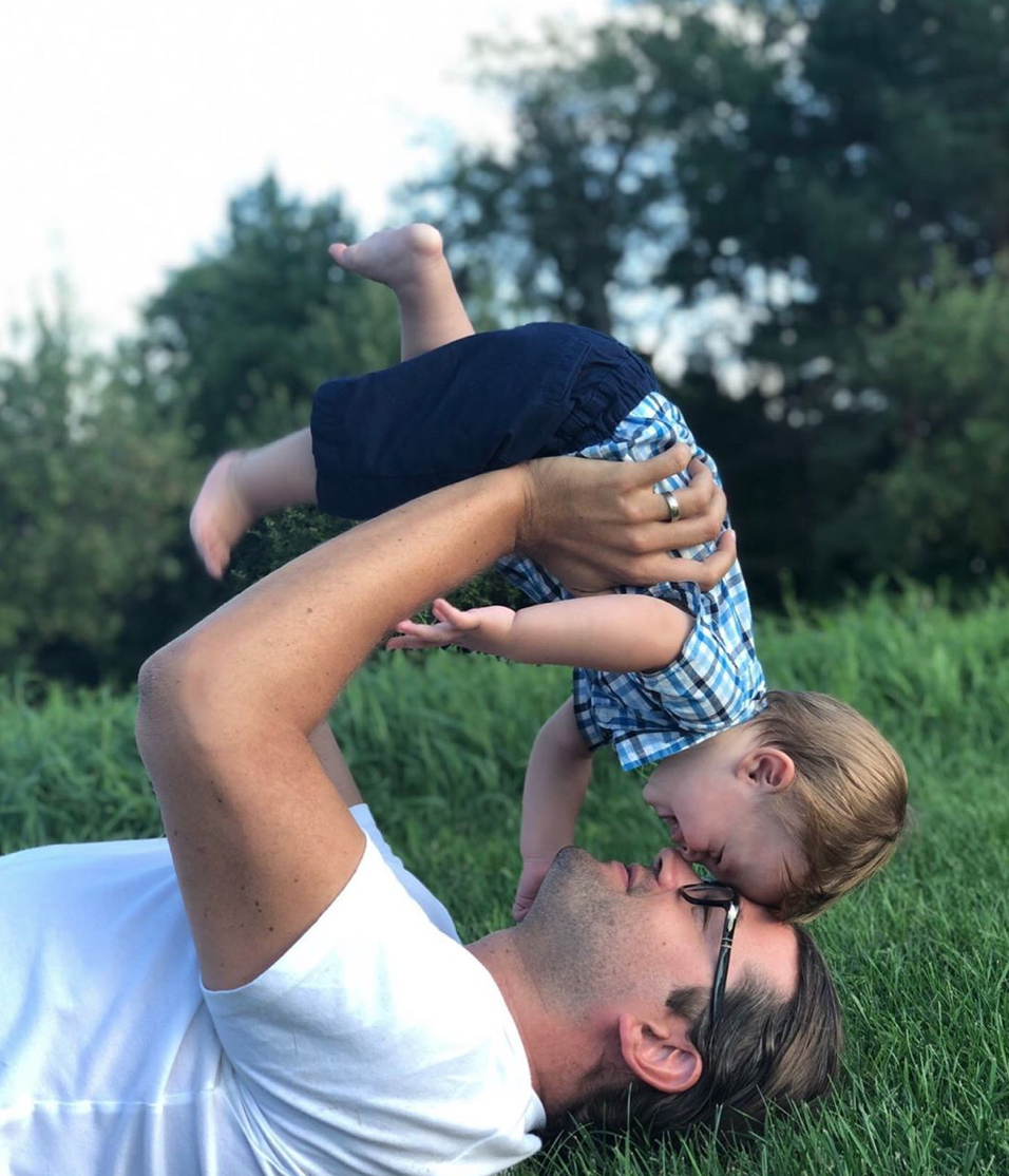 Our son, and grandson, Jack, summer, 2019