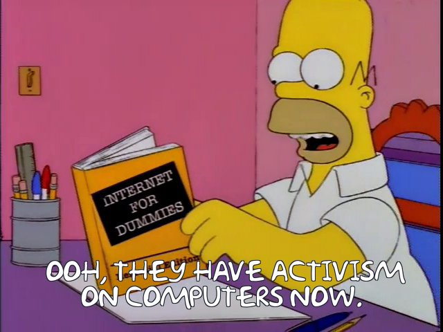 The person behind the Simpsons Prolife Memes account.
