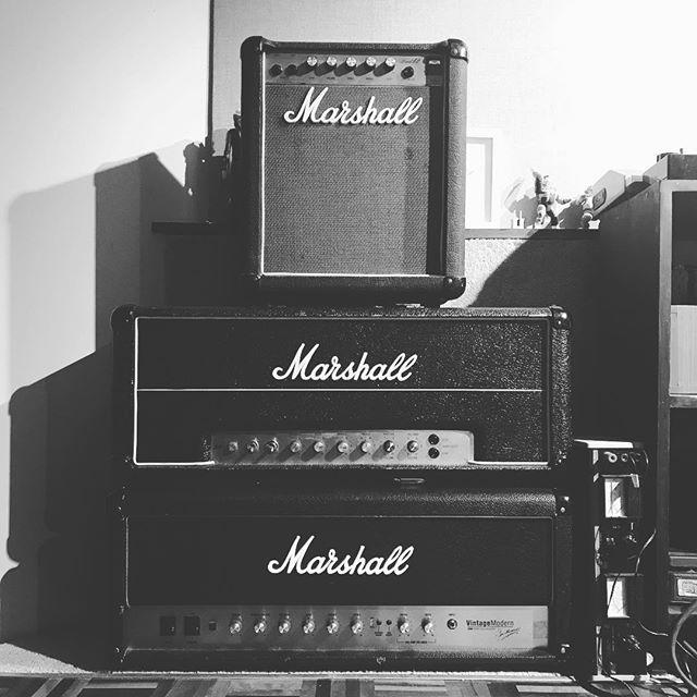 Do you even Marshall? #vintageamp #marshallamps #marshalljmp #jmp