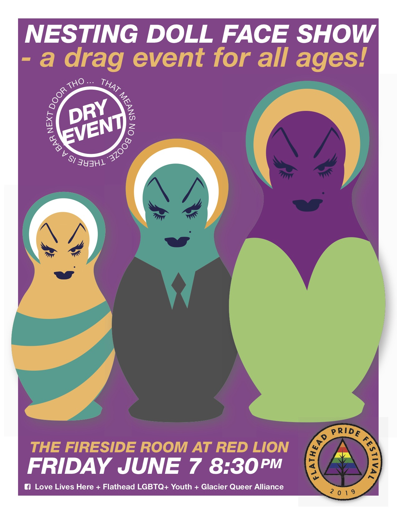 8-11 pm on Friday, June 7 Fireside Room at Red Lion 20 S Main St., Suite 150, Kalispell