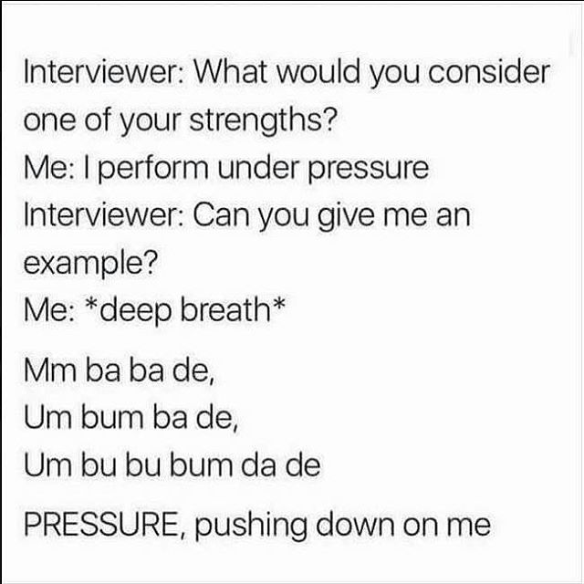 Choir humour 😄💚 This belter of a song is actually in our repertoire. #boroughmarketchoir #underpressure #welovesinging #choirhumour