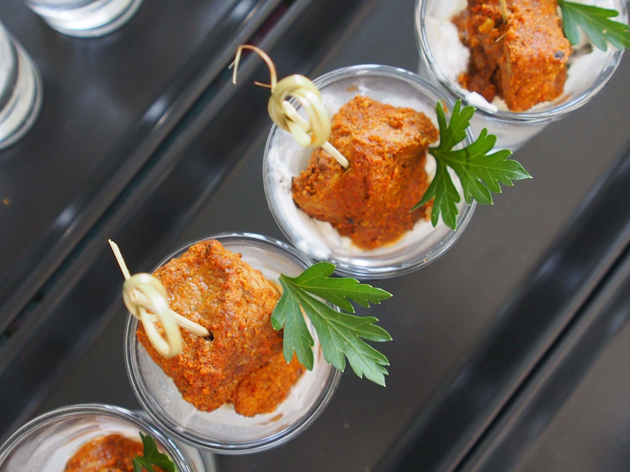Canapes & Taster Bowls -