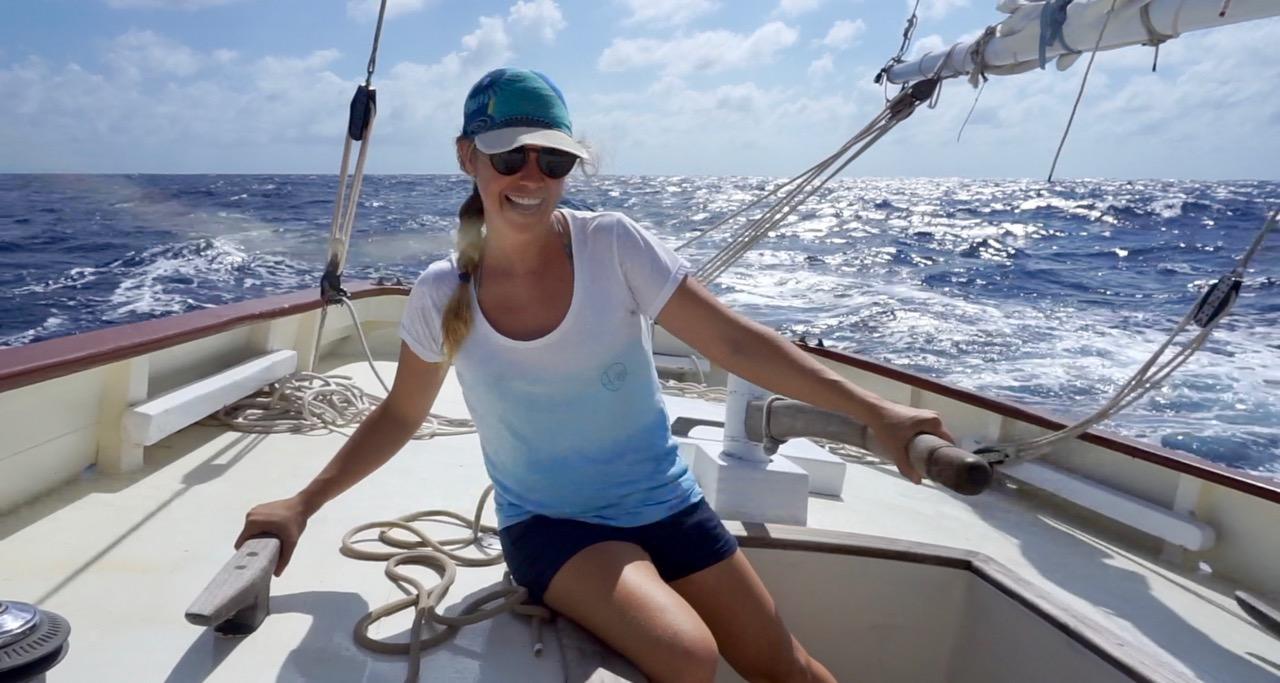 Suzanne van der Veeken - Sailing, Diving, Kitesurfing