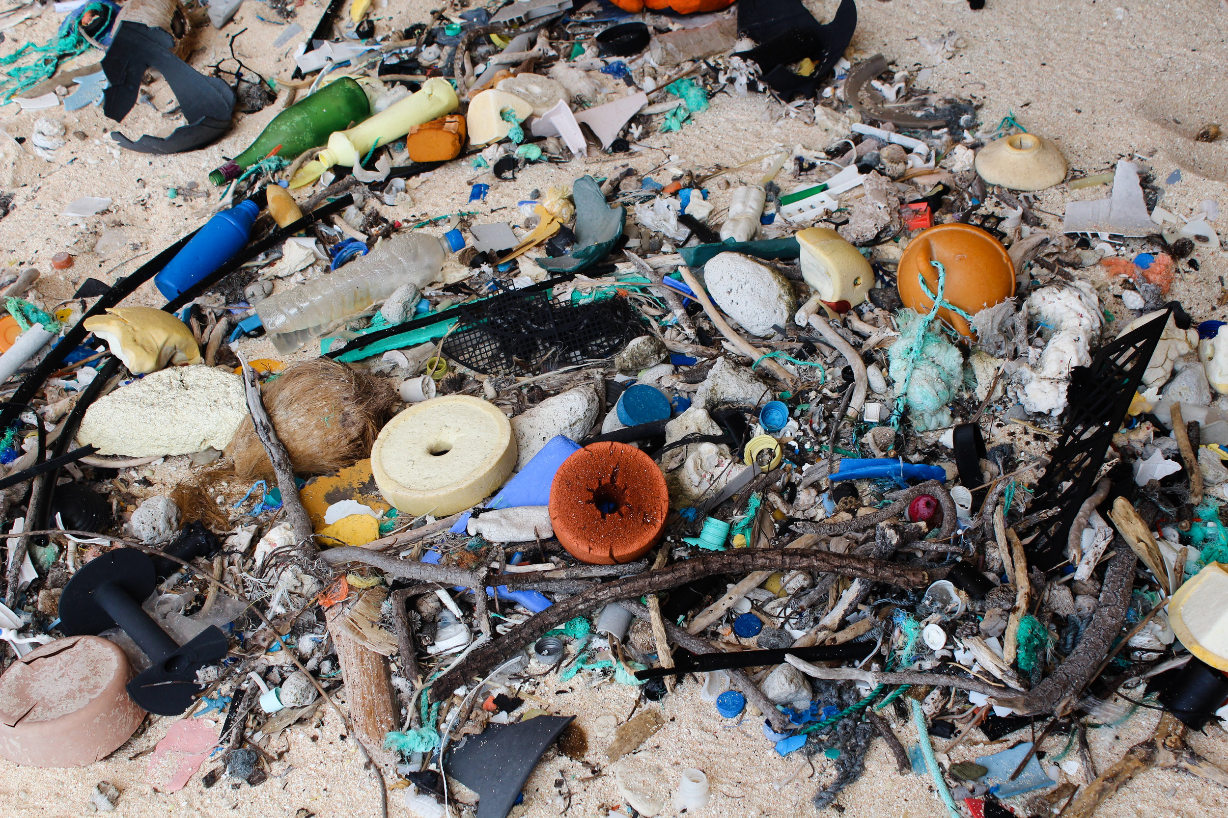 Researchers discovered roughly 37.7 million items of debris along the beach, not accounting for plastic that was buried beneath 10cm.