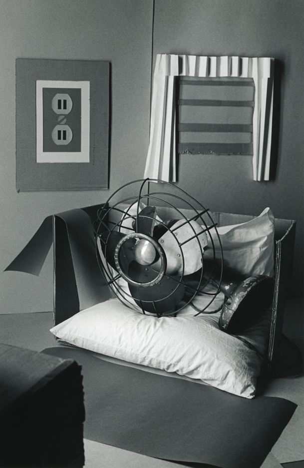 Fan As Eudemonist, Relaxing After An Exhausting Day At The Beach , 1975