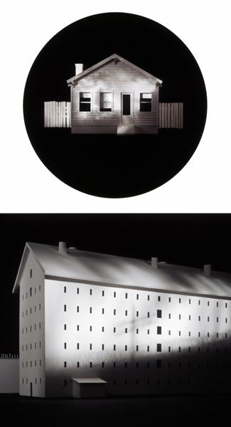 Home and Prison , 1993 Lithograph