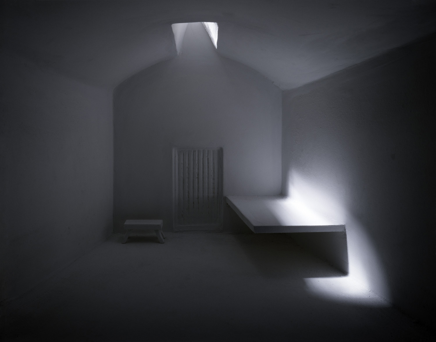 Prison Cell with Skylight , 1993