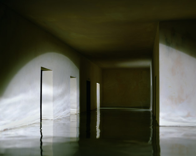 Flooded Hallway , 1998