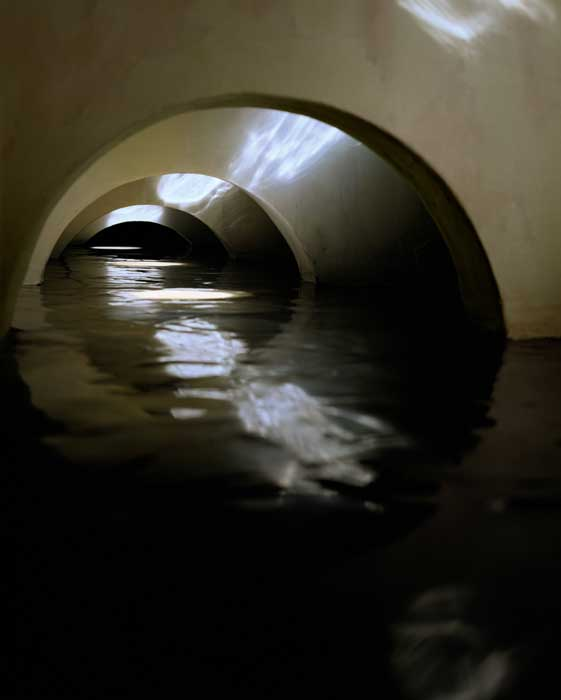 Four Flooded Arches from Left , 1999