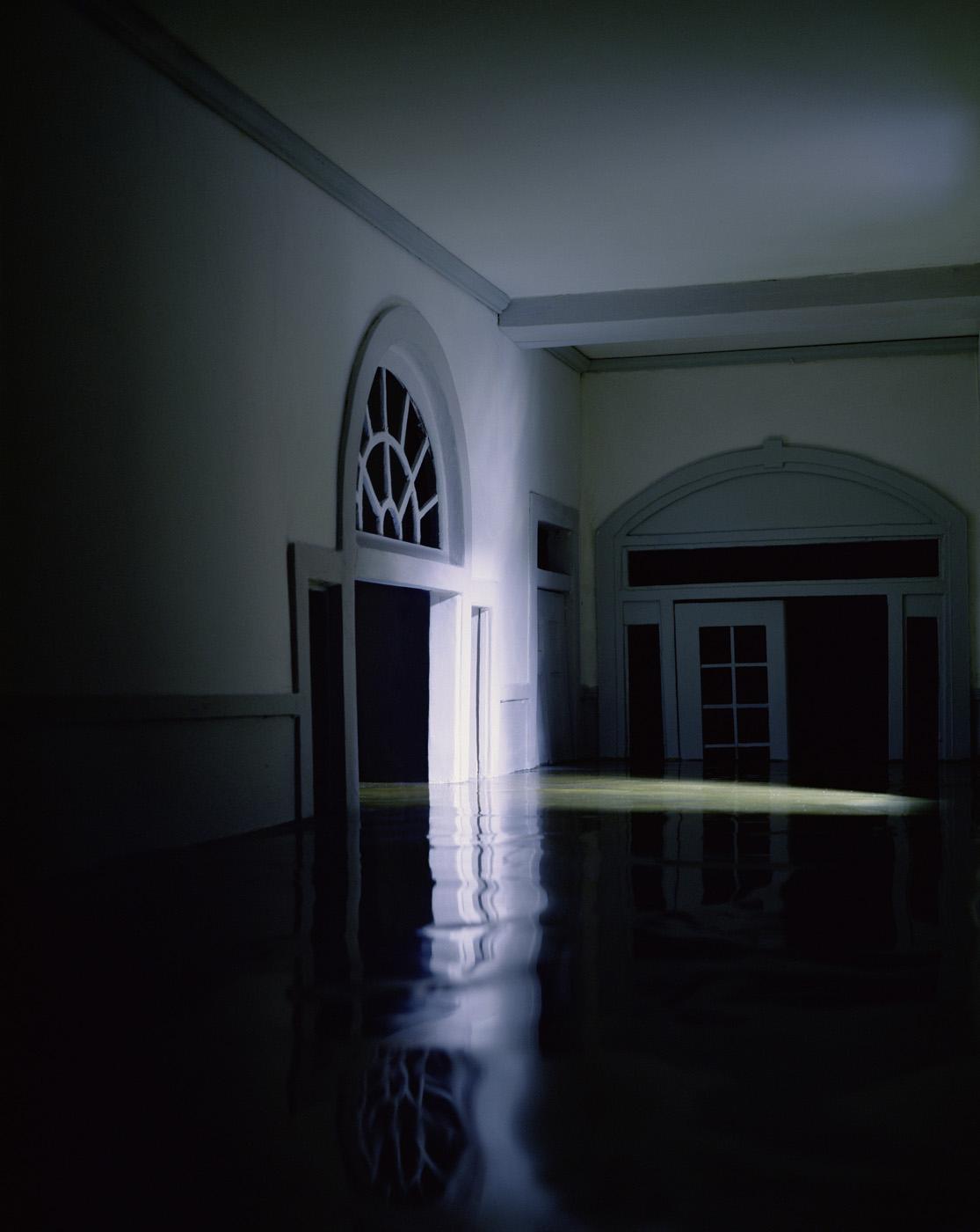 Blue Hallway , 2000