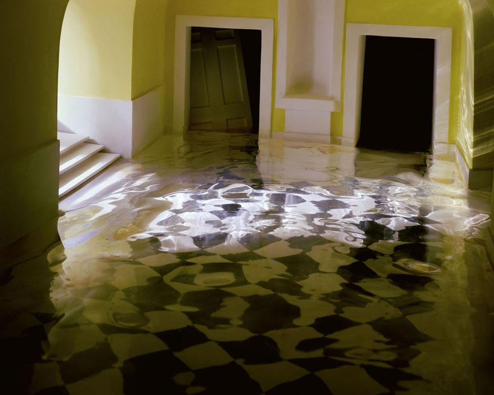Yellow Hallway #2 , 2001