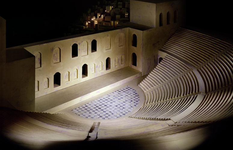 Theater (After the Acropolis) , 2006