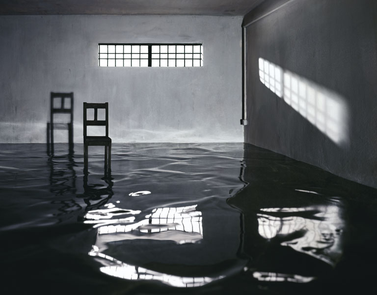 Flooded Room with Chair , 2008