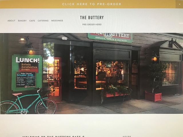 Check out our new website! www.butterybakery.com #butterybakery