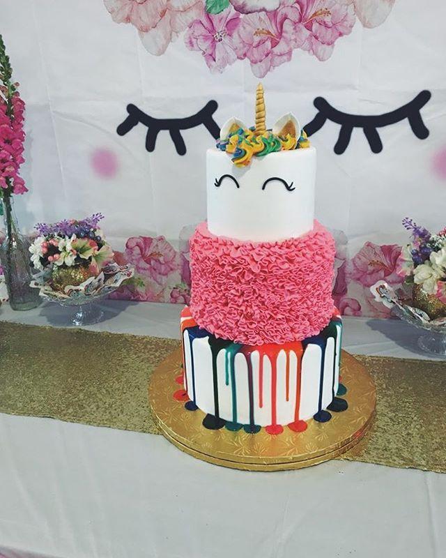 Unicorn cake #butterybakery