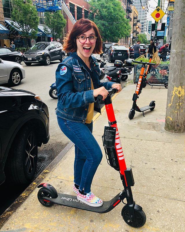 Havva good weekend, gotta scoot! 🛴👋 #ScootingIntoSummer