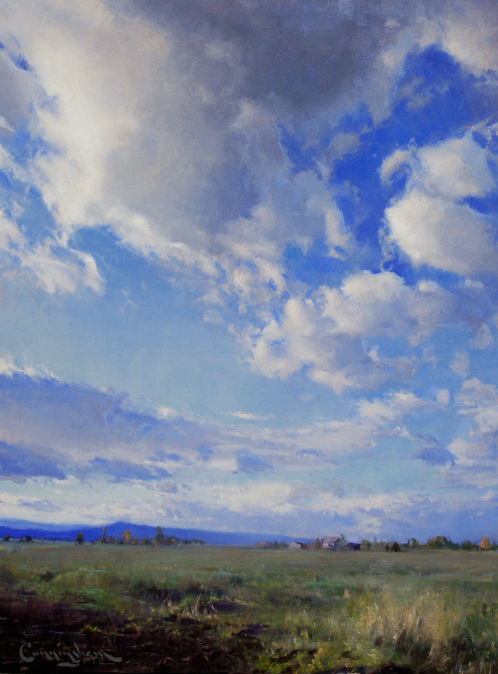 75 Addison Skies, Oil on Linen, 36 x 48 inches, 2012.jpg