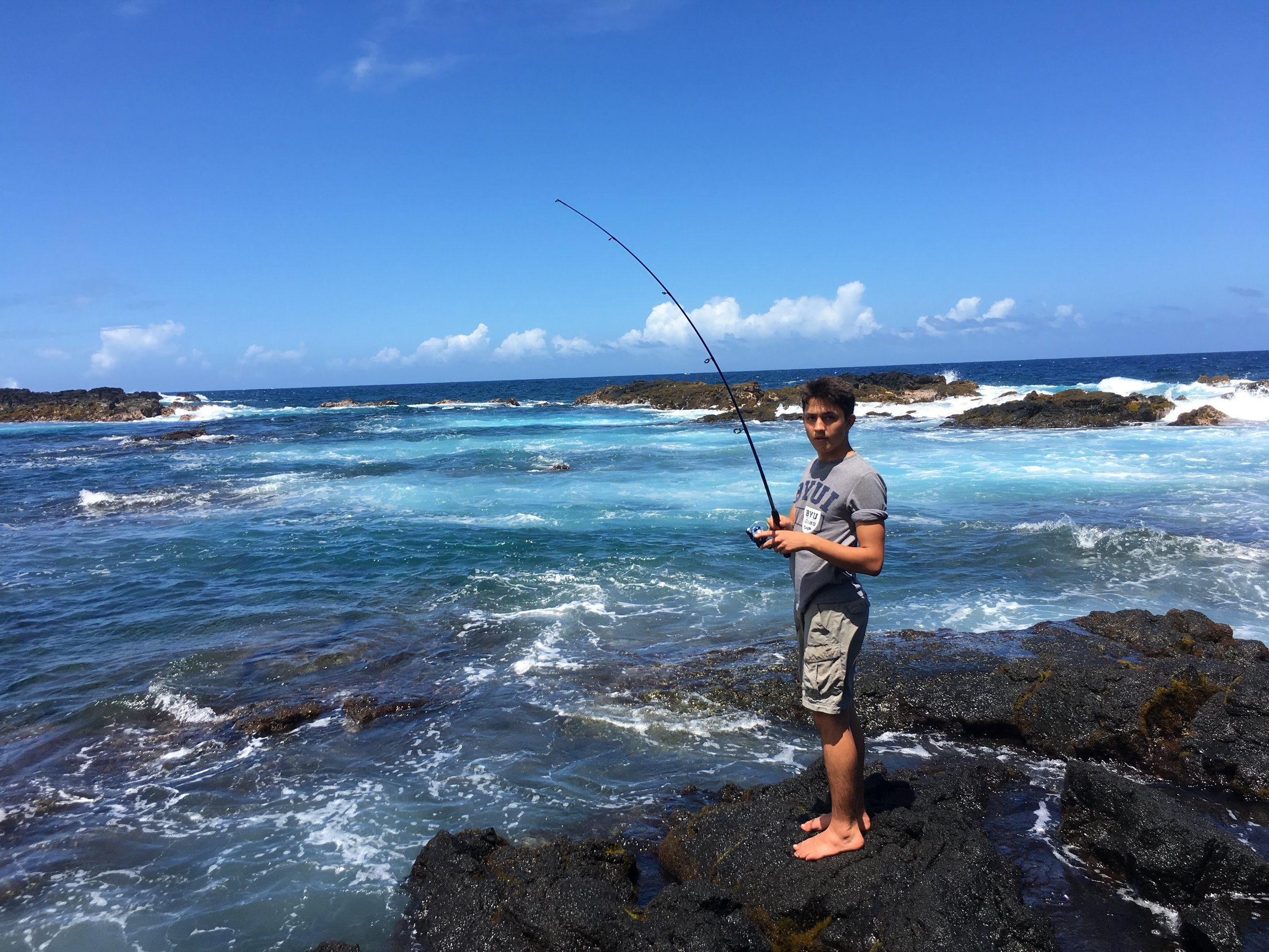 Enoch's Posts - I snagged my line, which is why I like spearfishing :)