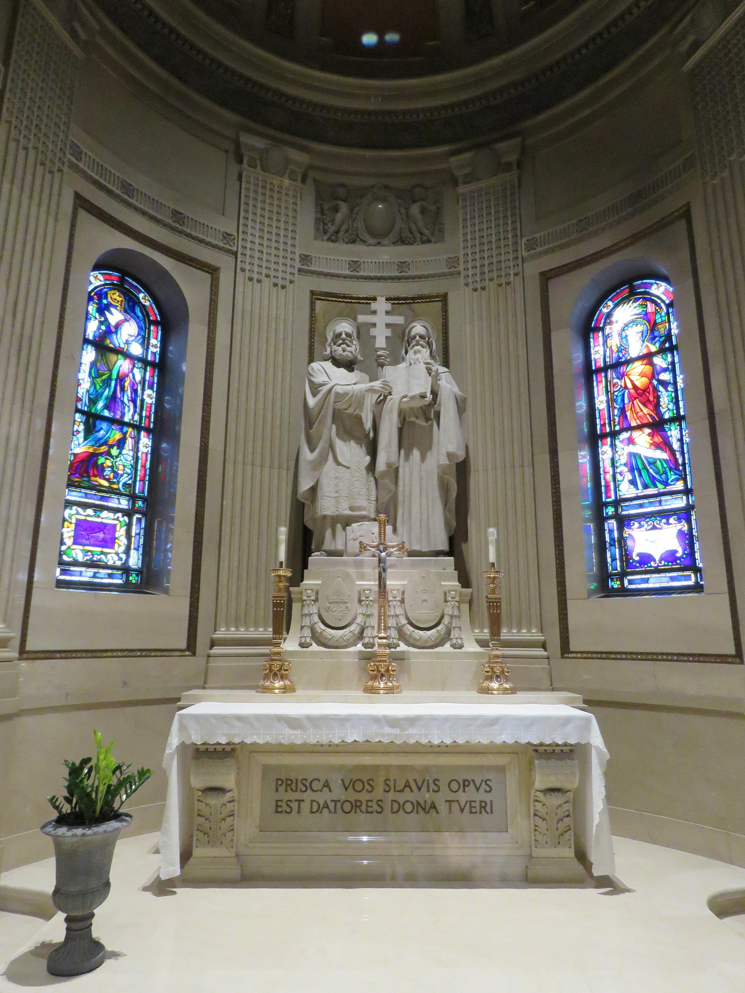 Kaplica św. Cyryla i Metodego w Ketedrze św. Pawła w St. Paul