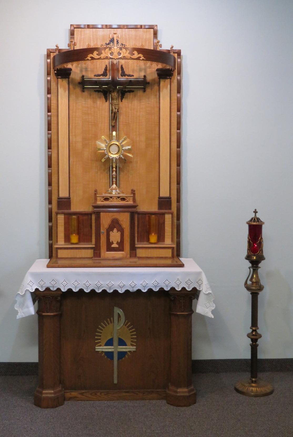 Najsw. Sakrament w Kaplicy Adoracji.JPG