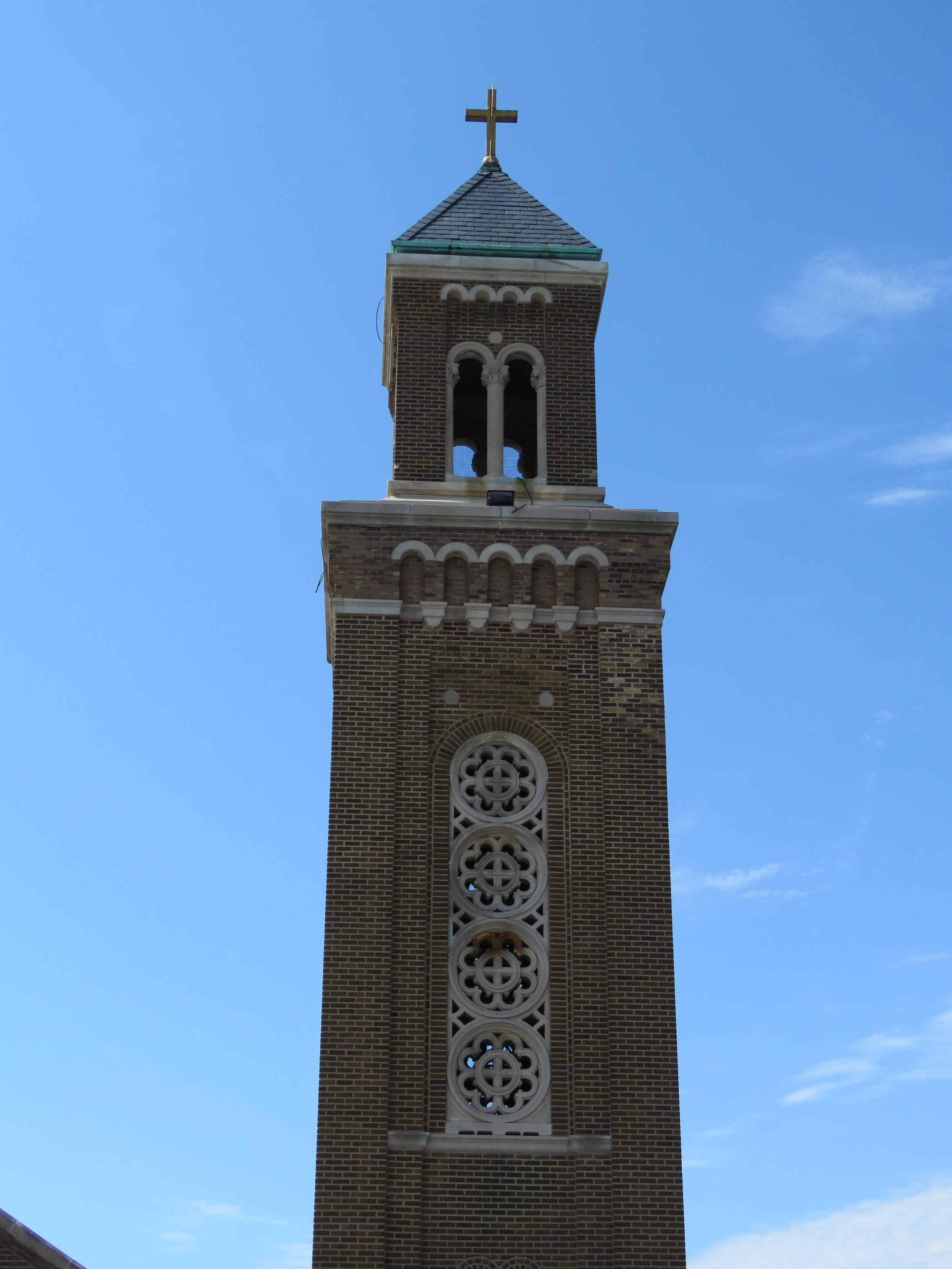September 2018 - Holy Cross Church Tower