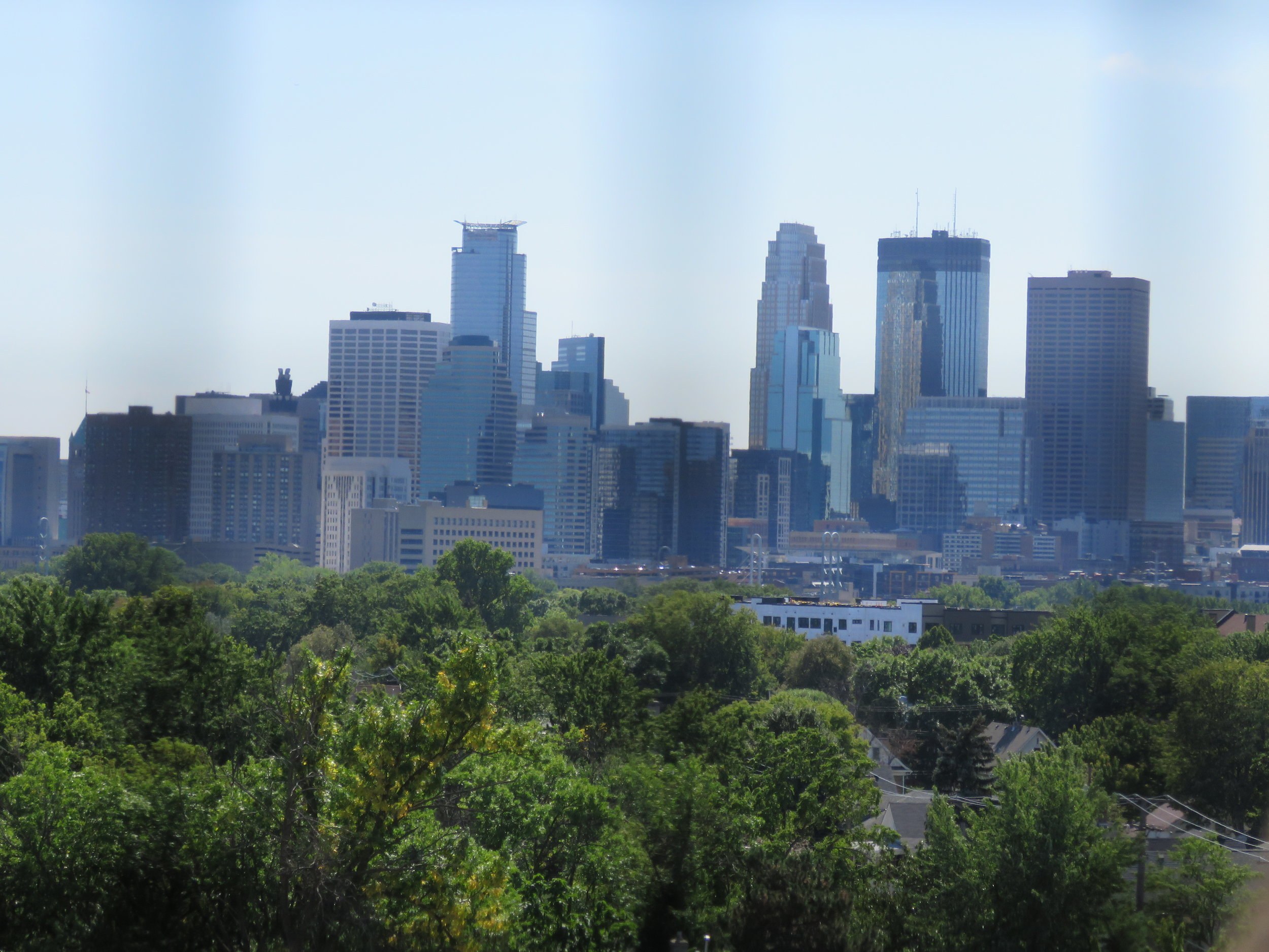 View from HC Church Tower - Downtown Minneapolis