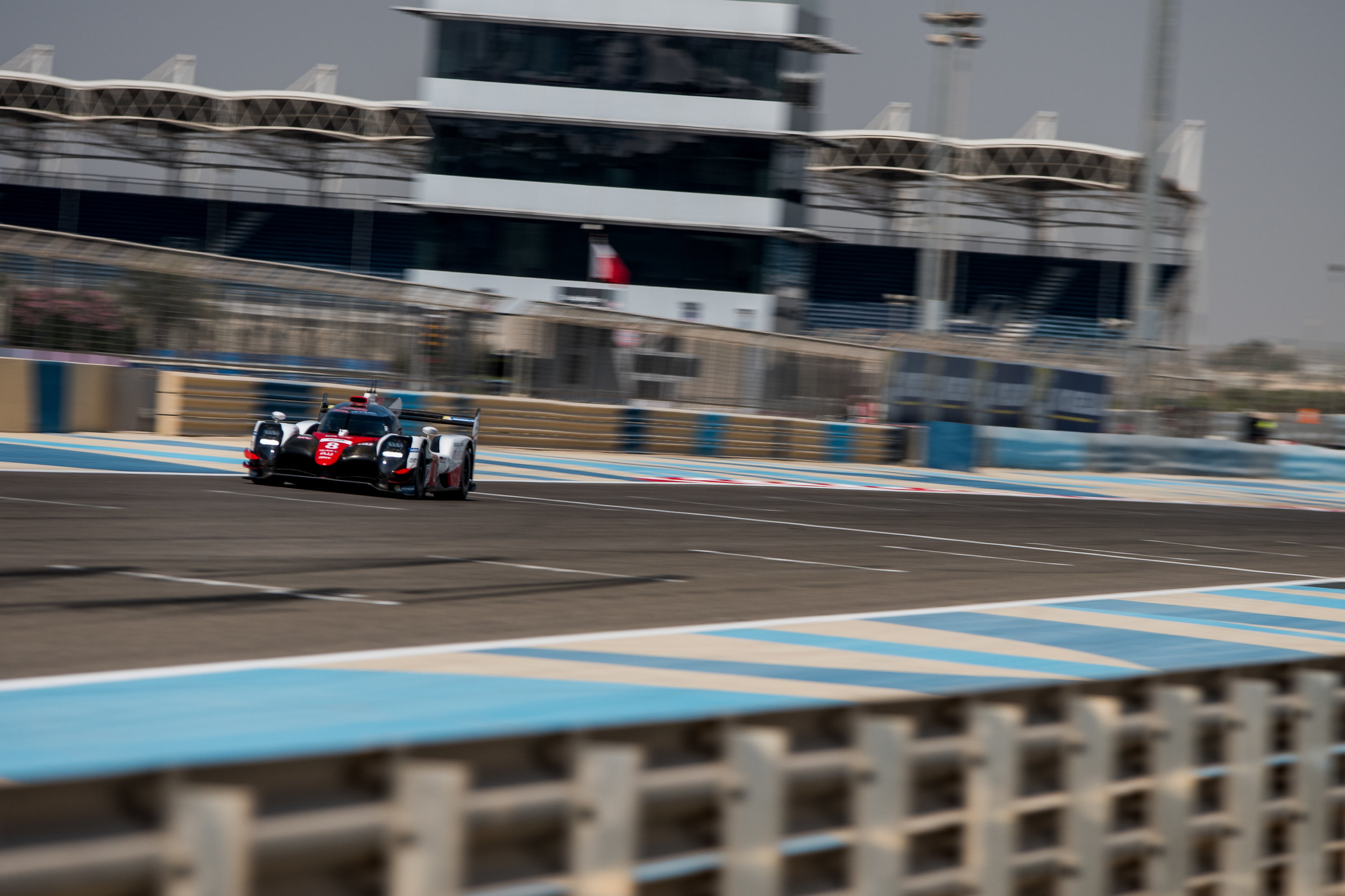 Incoming! The LMP1 cars blast down the straights rather wonderfully. Photo: WEC/Adrenal Media