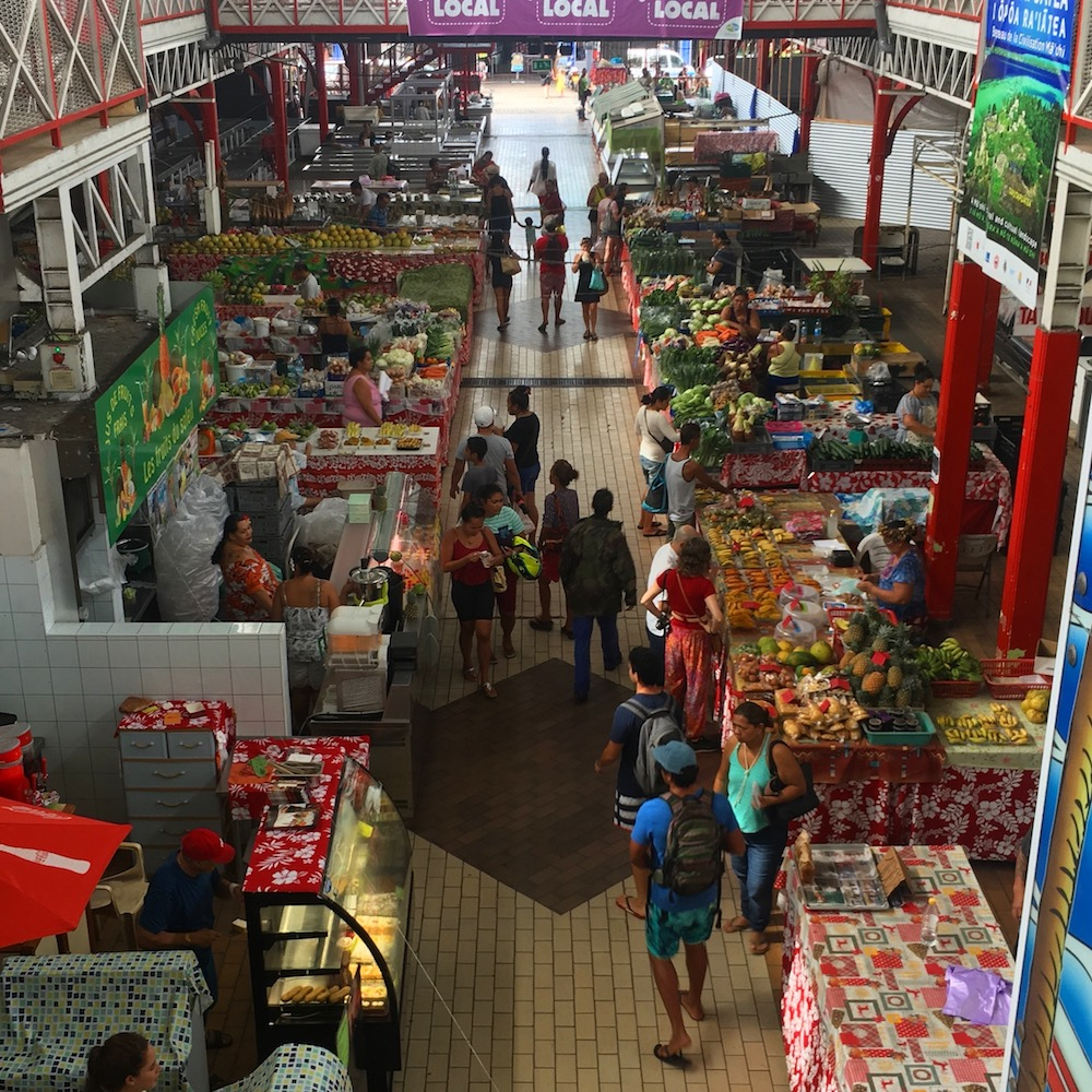 Papeete Outdoor Produce Market