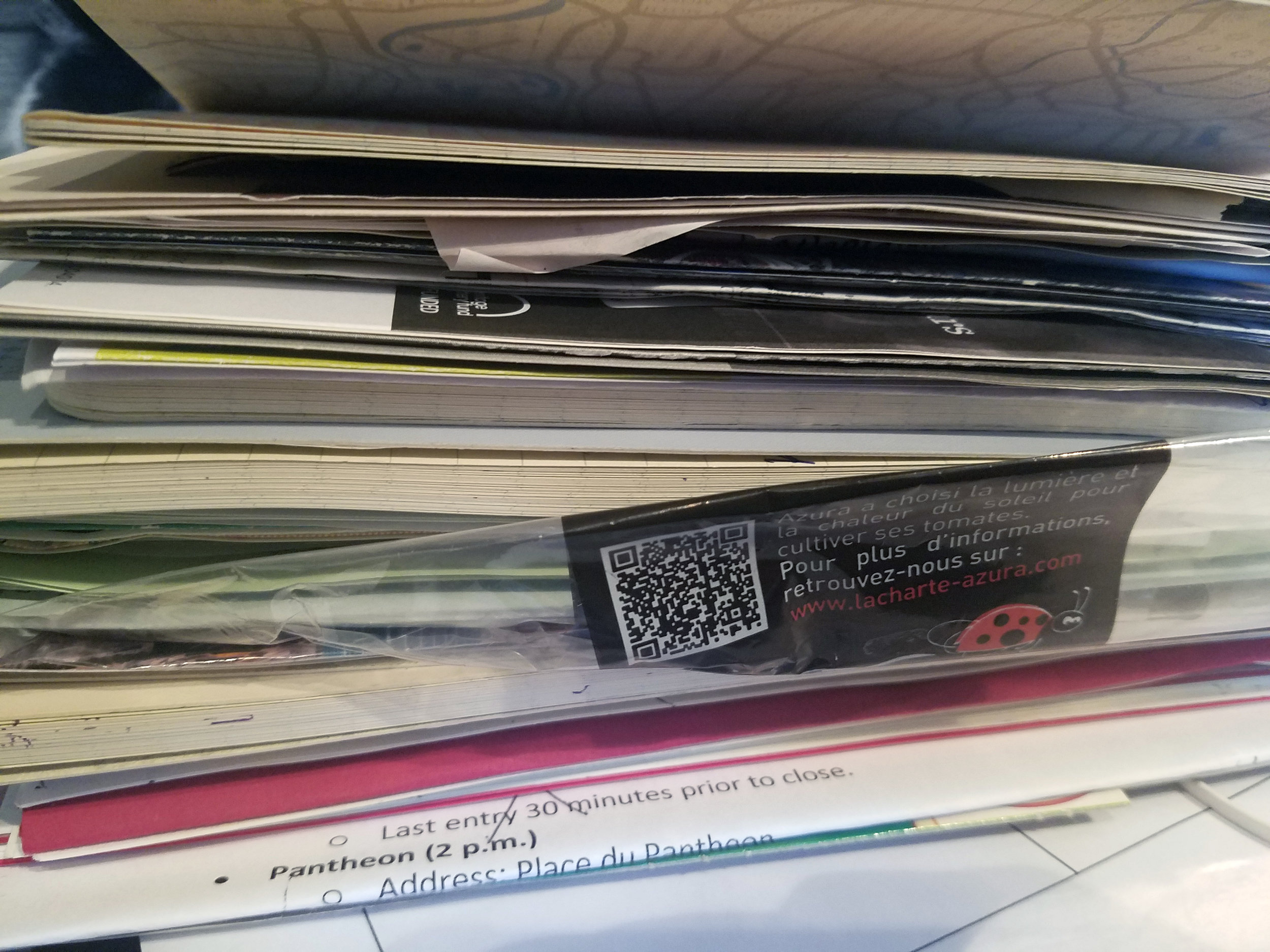 Travel journal hoarders, unite!