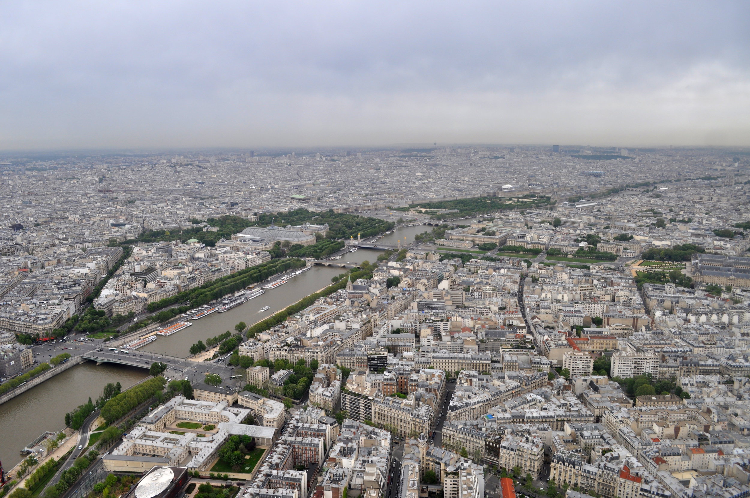 Fear With A View - Sometimes, you have to push through your fears to reach the summit for a beautiful view. Paris, 2012.