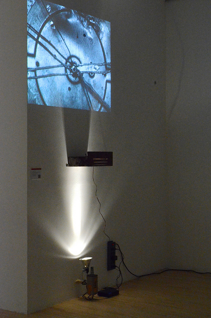 Ulysses Atwhen's  underactuation.  All installation photos by Liz Flyntz