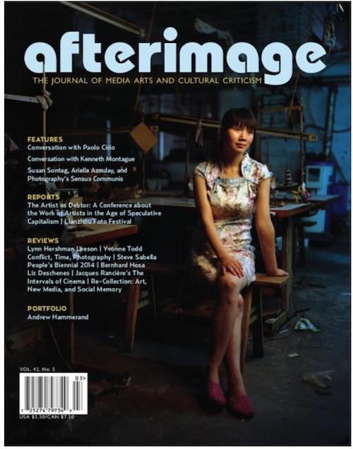 Afterimage Vol.42, No.5
