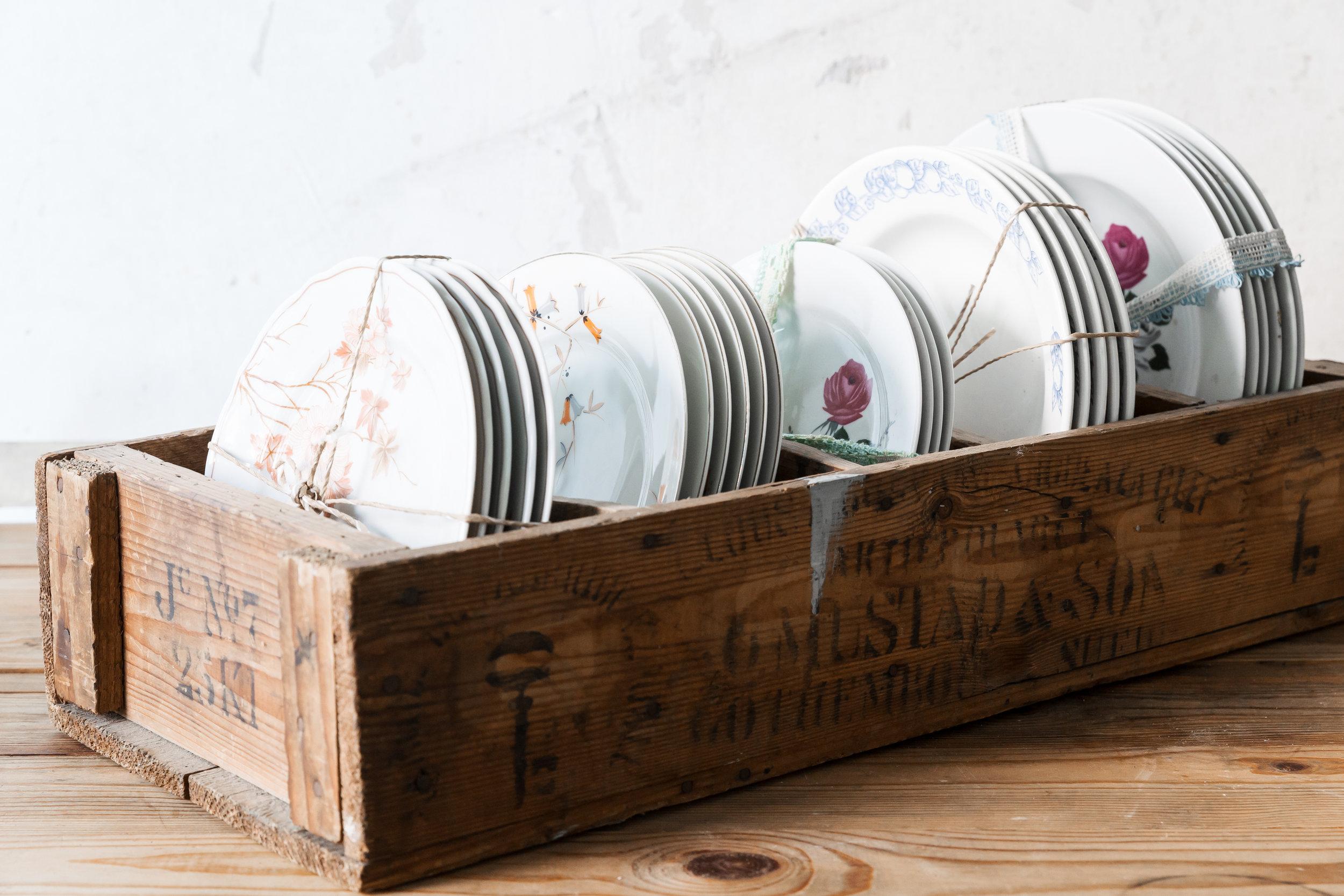 Plate Holzkiste