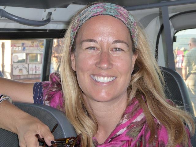 Tara Barr. Volunteer with Kenya Relief.