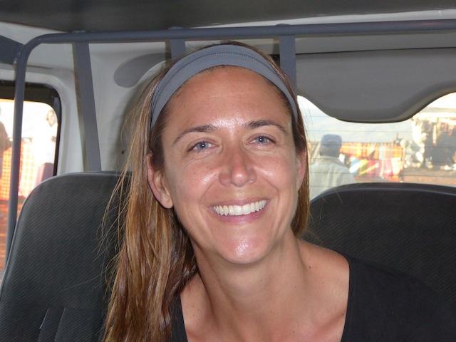 Michelle Trainor. Volunteer with Kenya Relief.