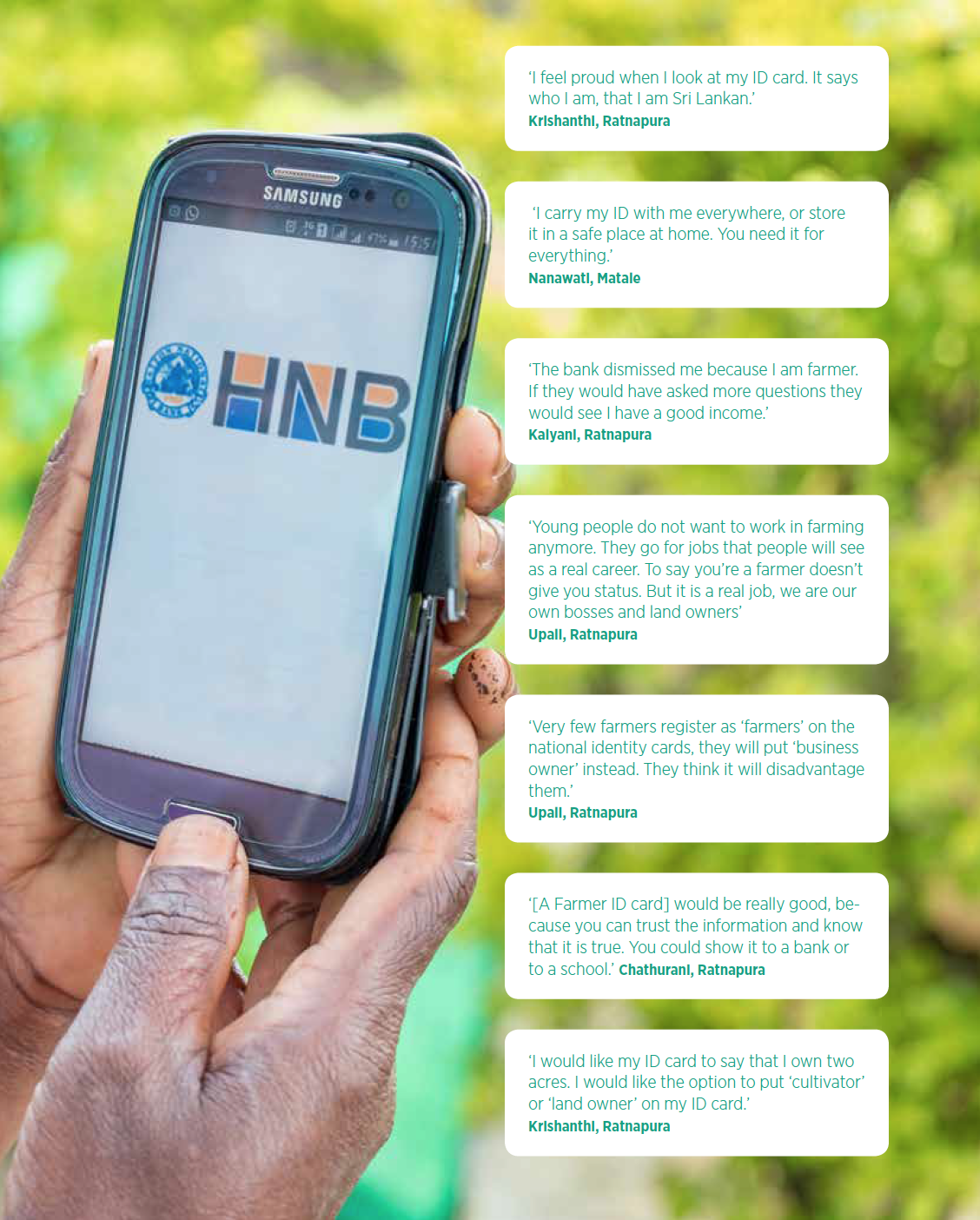 Source: Digital Identity for Smallholder Farmers: Insights from Sri Lanka