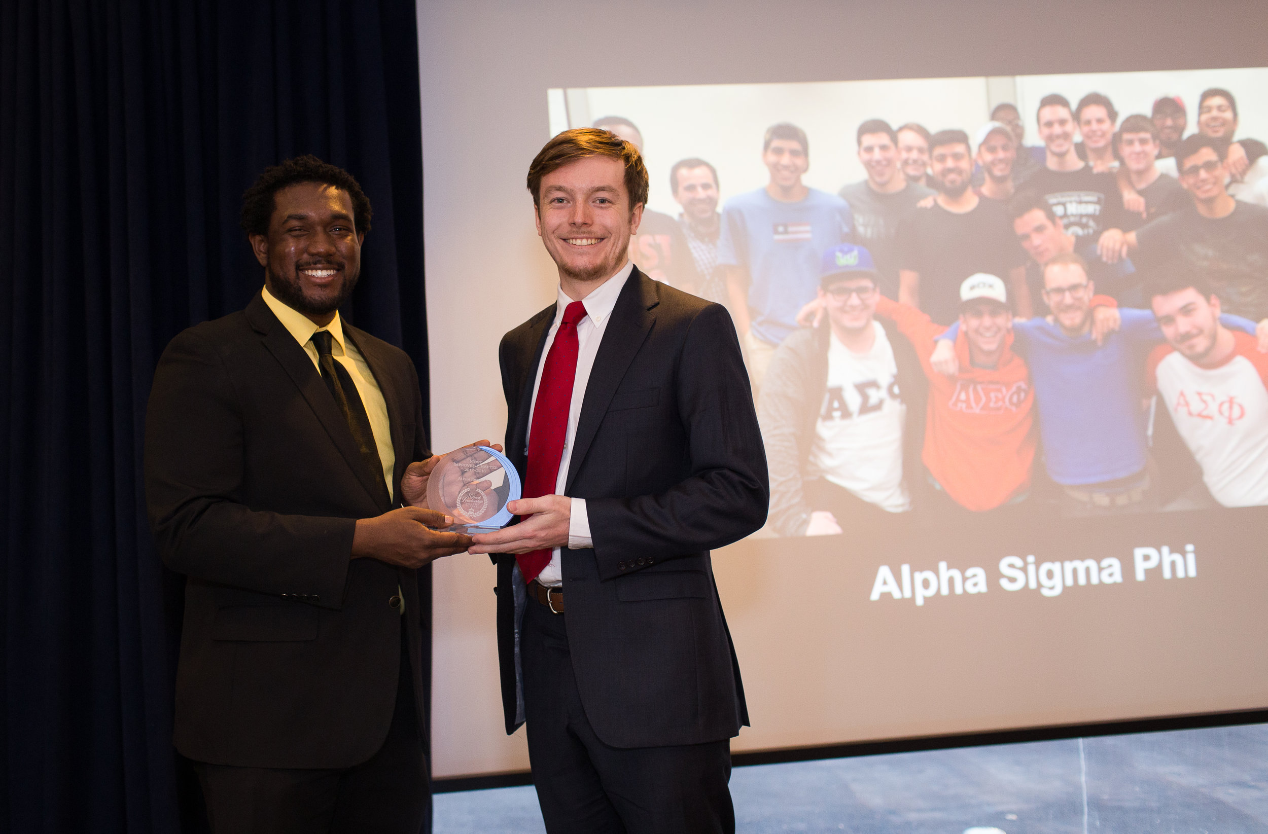 Most Improved Chapter: Alpha Sigma Phi