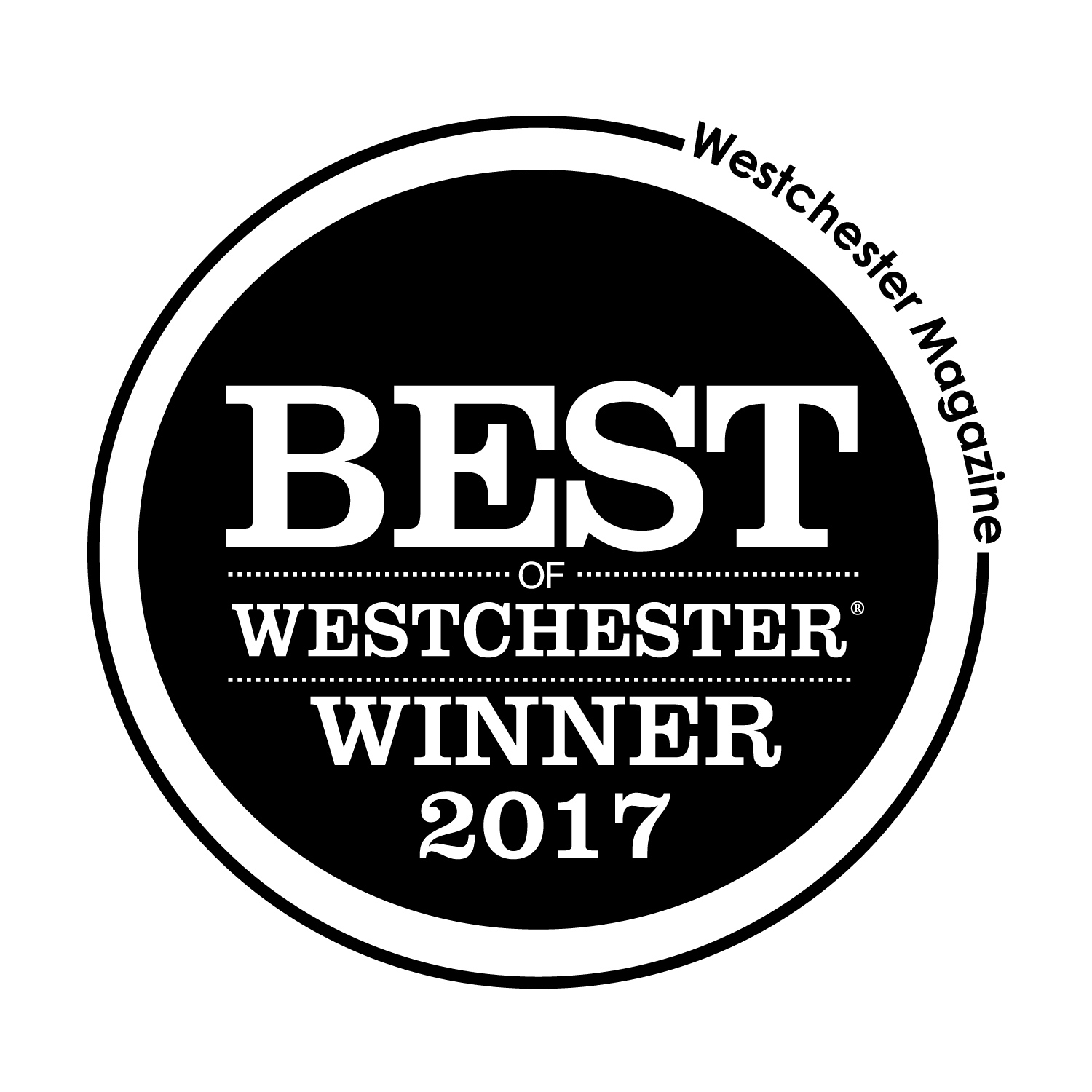 """WE WE HONORED TO HAVE BEEN VOTED EDITORS PICK FOR """"BEST NEW SKINCARE LINE"""" IN WESTCHESTER MAGAZINES BEST OF WESTCHESTER 2017"""