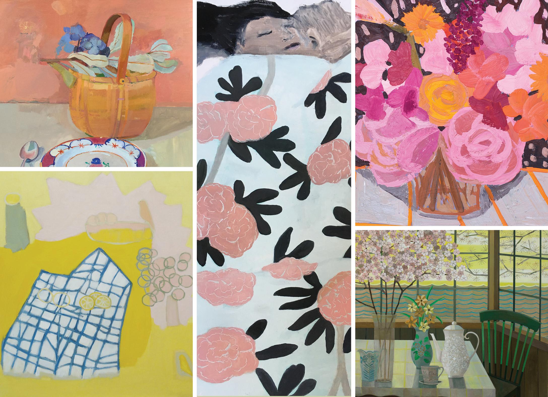 FLOWERING: INSIDE/OUTSIDE - Kathleen Craig | Xico Greenwald | Aubrey Levinthal | Gail Spaien | Anna ValdezJune 13 - July 26, 2019