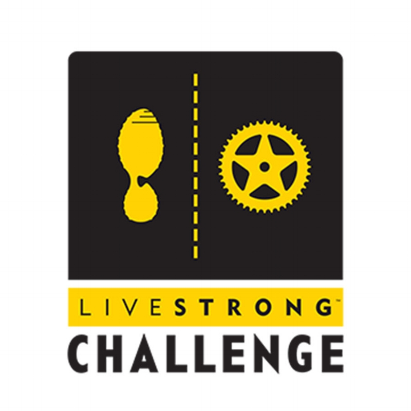 Identity for the LIVESTRONG CHallenge, a series of Fundraising Ride/Run/Walk events