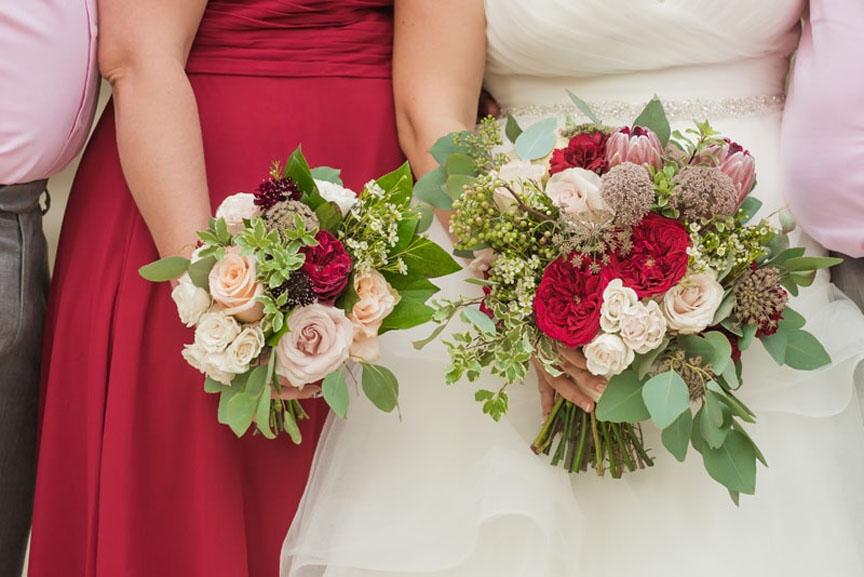 Michigan league ballroom wedding flowers