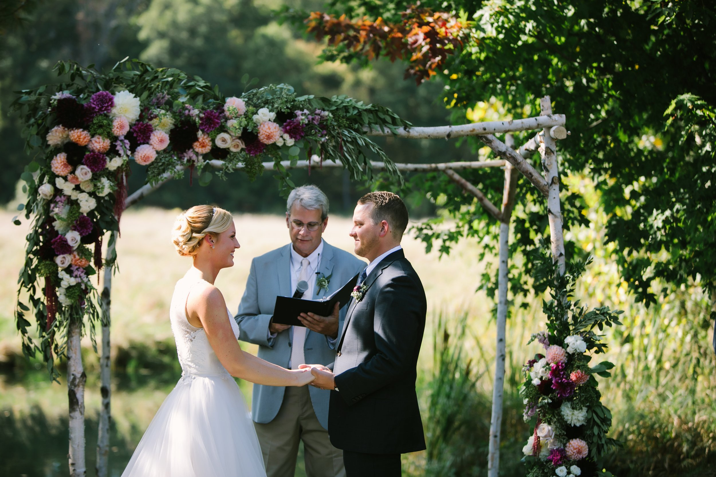 misty farm wedding