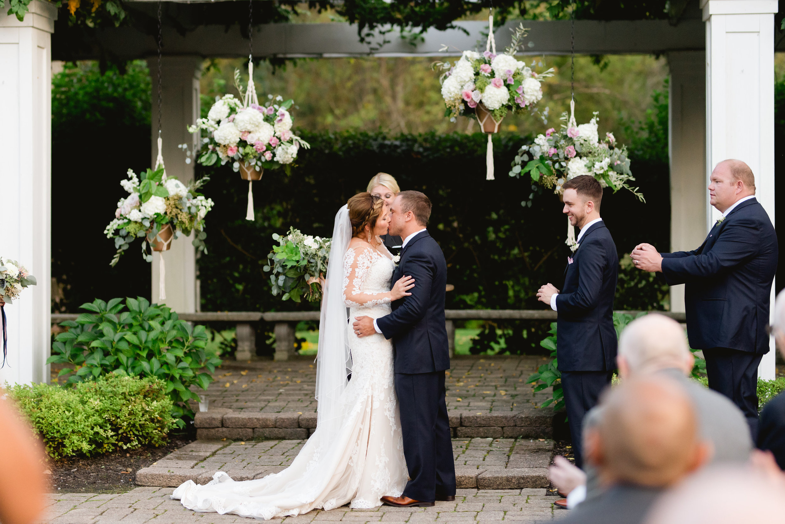 wellers wedding ceremony flowers